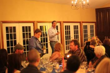 Winemaker Mark Baehmann chats about a special tasting of 2013 Unfermented juice!!!