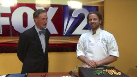Chef Ryan on Fox 2